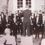 Konzert im Schloss Wöbbel 1984